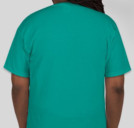 Claiming Disability Podcast Launch Fundraiser - unisex shirt design - back