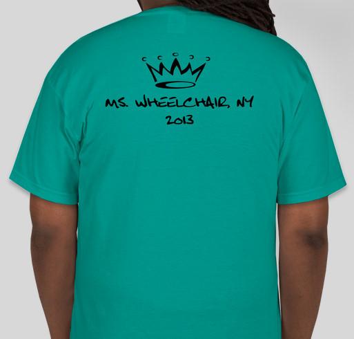 Ms wheelchair new york final t shirt fundraiser custom for Custom tee shirts nyc