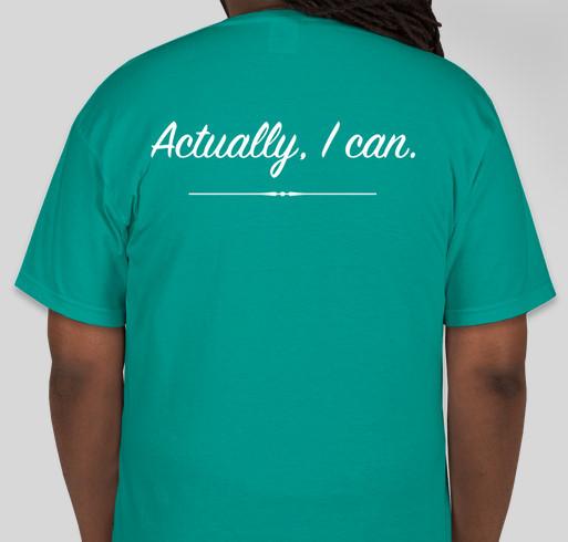 Team Lina Buddy Walk T-shirts Fundraiser - unisex shirt design - back