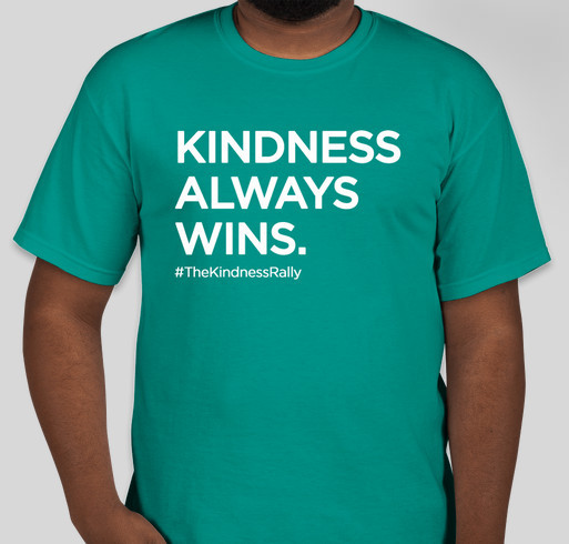 Kindness Always Wins Fundraiser - unisex shirt design - front