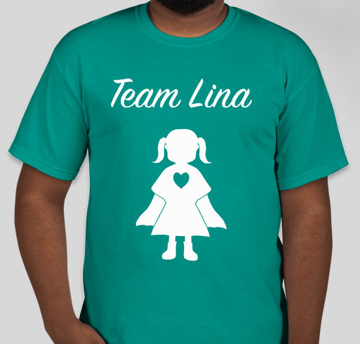 Team lina buddy walk t shirts custom ink fundraising for Custom team t shirts