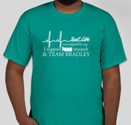 Team Bradley ~ Fight EHE Fundraiser - unisex shirt design - front