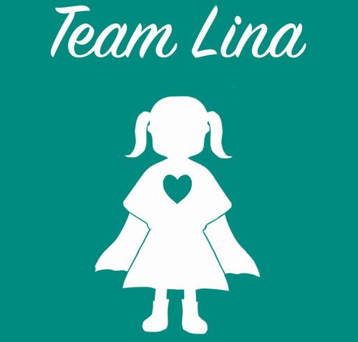Team Lina Buddy Walk T-shirts shirt design - zoomed