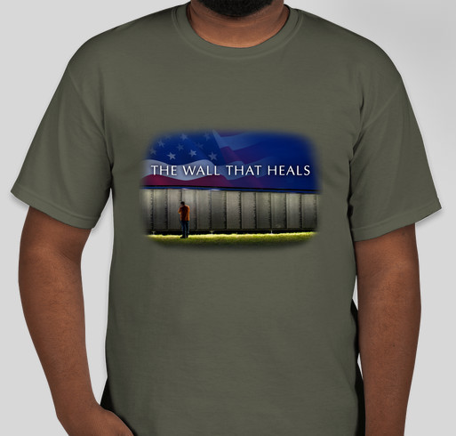 The Wall That Heals - 2018 Tour Across America Fundraiser - unisex shirt design - front