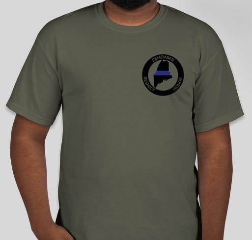Remember Maine's Fallen Fundraiser - unisex shirt design - front