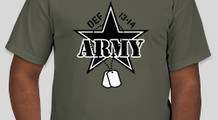 Army Star and Dog Tags