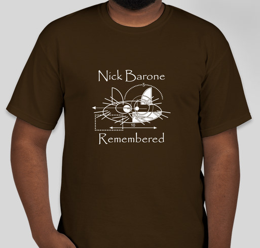 Nick Barone Remembered Fundraiser - unisex shirt design - front
