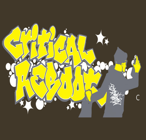 Critical Reboot Limited Edition T-Shirt shirt design - zoomed