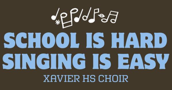 Singing Is Easy