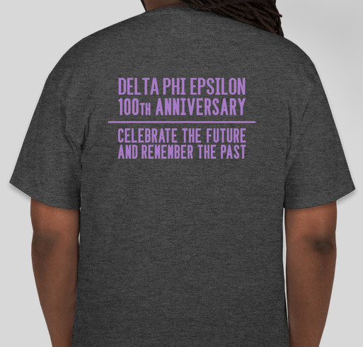 Delta Phi Epsilon 100th Anniversary Custom Ink