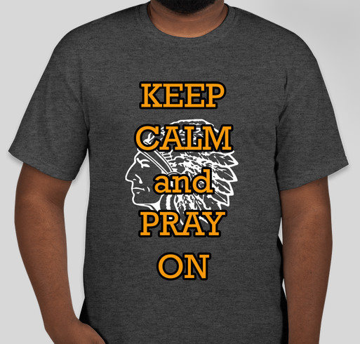 taking a stand for prayer Fundraiser - unisex shirt design - front