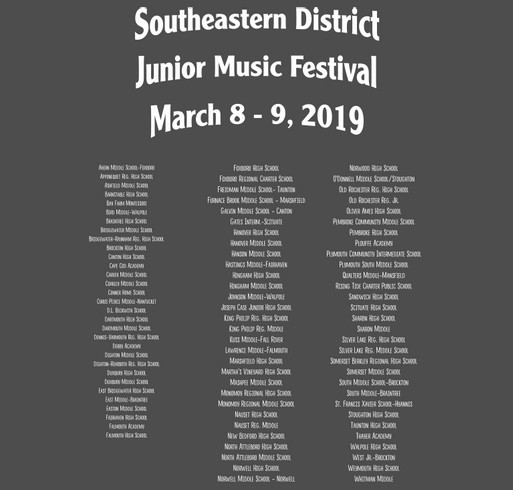 SE Junior District Tee Shirts shirt design - zoomed