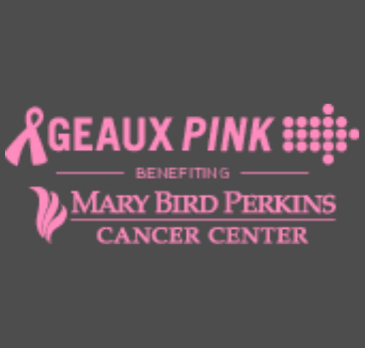 Geaux Pink 2018 shirt design - zoomed
