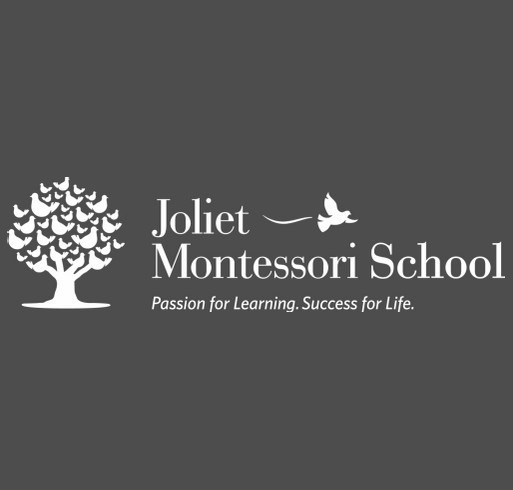 Joliet Montessori School shirt design - zoomed