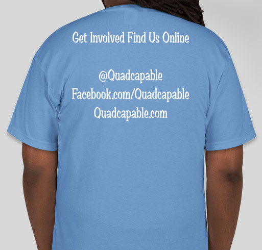 Charlie's Fight to Cure Paralysis Fundraiser - unisex shirt design - back
