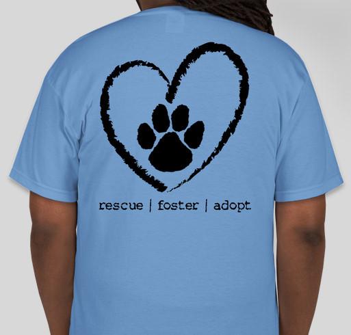 Big hearts animal rescue fundraiser custom ink fundraising for Non profit t shirt fundraiser