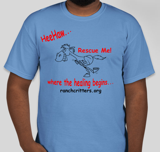 HeeHaw Ranch - Ranch Critters Fundraiser - unisex shirt design - front