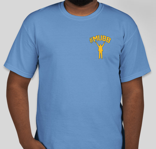 #mubb online support for Al's Run Fundraiser - unisex shirt design - front