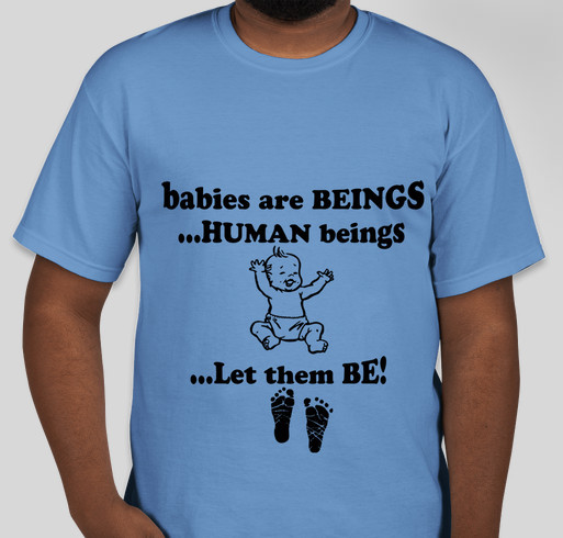 BABY LIFE SUPPORT Fundraiser - unisex shirt design - front