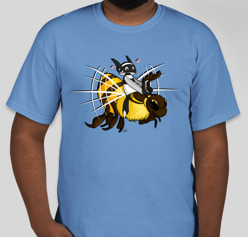 Skylar Helps Save the Bees Fundraiser - unisex shirt design - front