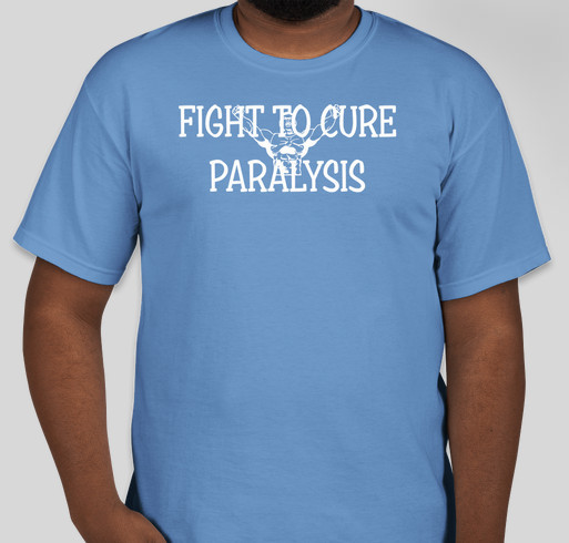 Charlie's Fight to Cure Paralysis Fundraiser - unisex shirt design - front