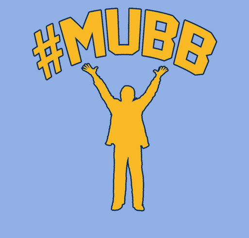 #mubb online support for Al's Run shirt design - zoomed