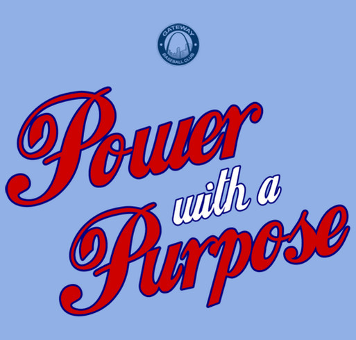 Power With A Purpose 2015 shirt design - zoomed