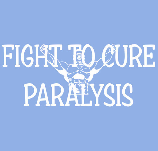 Charlie's Fight to Cure Paralysis shirt design - zoomed