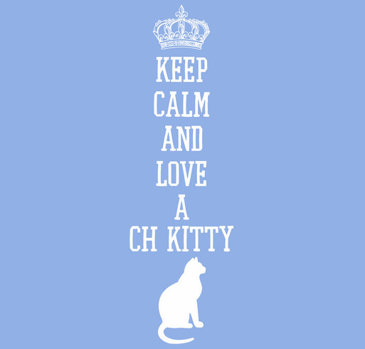 Cats and Kittens with Cerebellar Hypoplasia / CH Kitty Awareness Shirts shirt design - zoomed