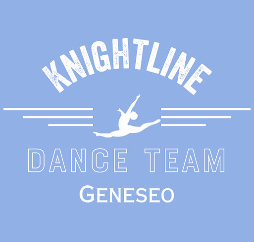 Geneseo Knightline Dance Team T-Shirt Fundraiser shirt design - zoomed