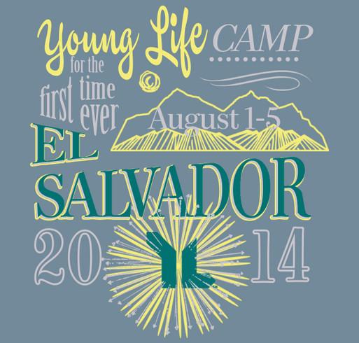 El Salvador Young Life Camp shirt design - zoomed