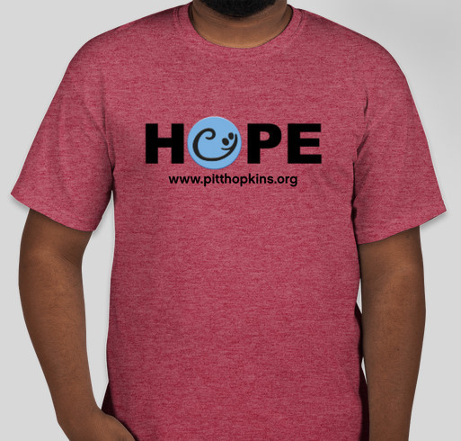 Pitt Hopkins Syndrome Awareness Day T-Shirt Fundraiser Fundraiser - unisex shirt design - front