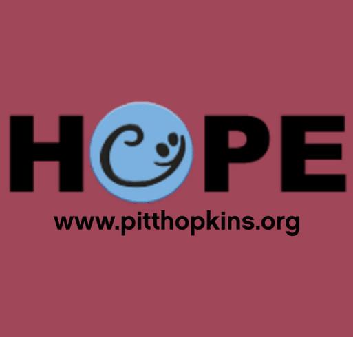 Pitt Hopkins Syndrome Awareness Day T-shirt Fundraiser shirt design - zoomed