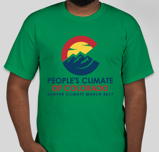 Denver Climate March 2017 Fundraiser - unisex shirt design - front