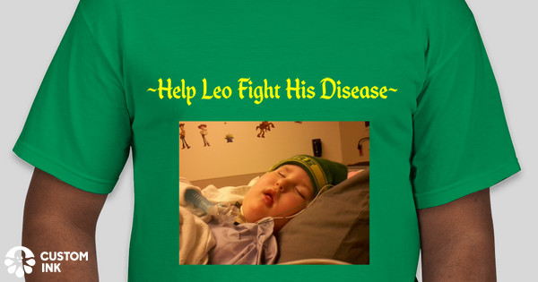 Help Leo Mullen Fight His Disease Fundraiser Custom Ink Fundraising