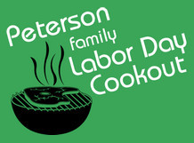 Peterson Family Labor Day Cookout