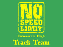 Bakersville High Track Team