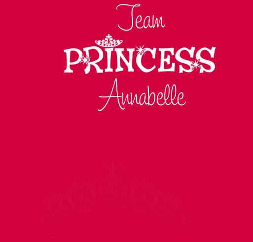 TEAM PRINCESS ANNABELLE Nashville CHD Walk shirt design - zoomed