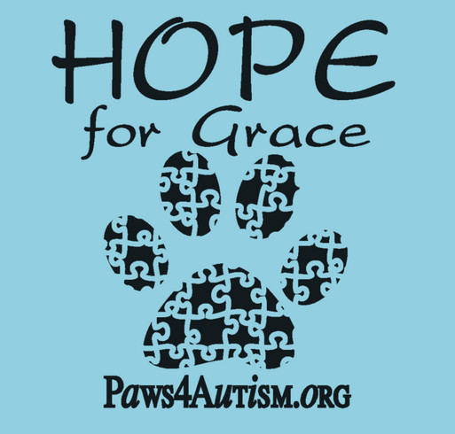 Hope for GRACE shirt design - zoomed