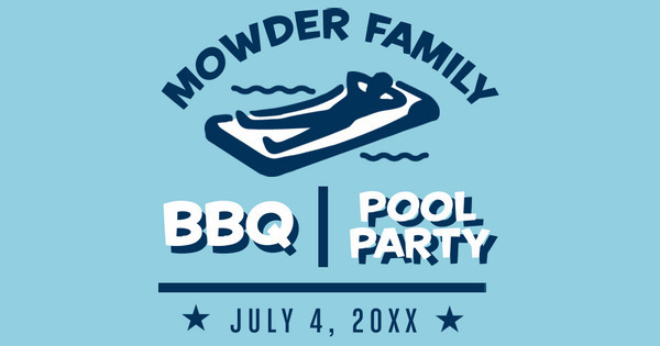 BBQ and Pool Party
