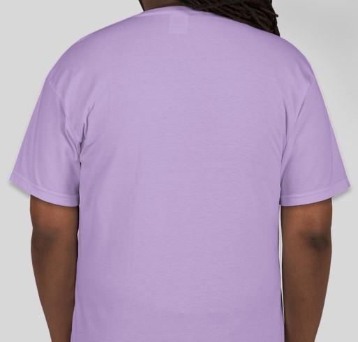 Get Evie Back to Boston Fundraiser - unisex shirt design - back