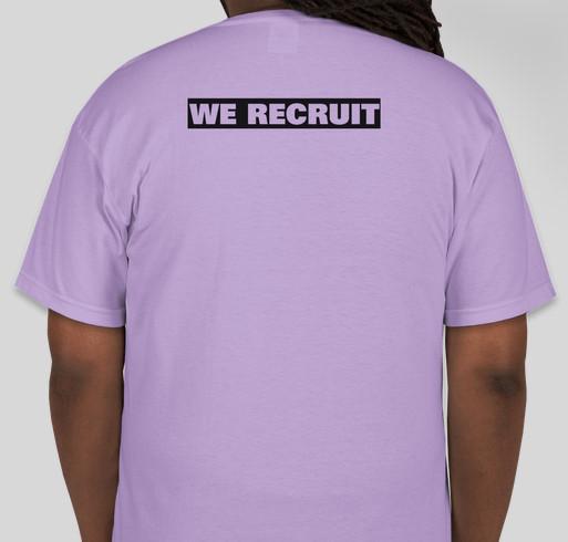 Support the Lesbian Avenger Project! Fundraiser - unisex shirt design - back
