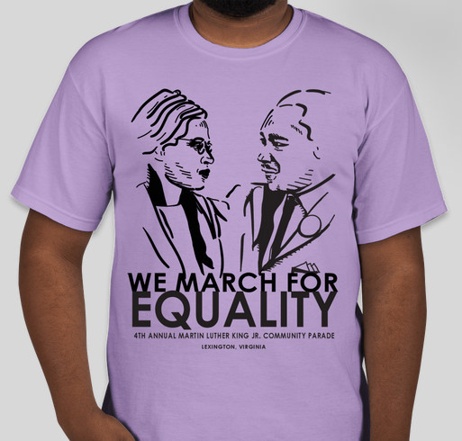 MLK Community Parade Fundraiser Fundraiser - unisex shirt design - front