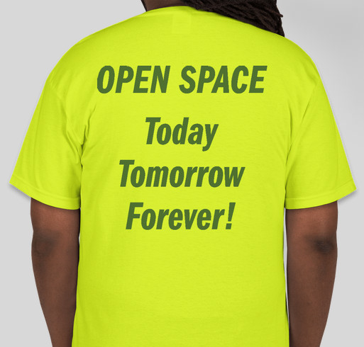 Save Reston's Green Open Space Golf Courses! Fundraiser - unisex shirt design - back