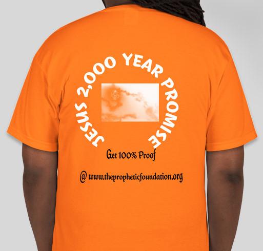 Prophetic Outreach For Jesus Christ Fundraiser - unisex shirt design - back