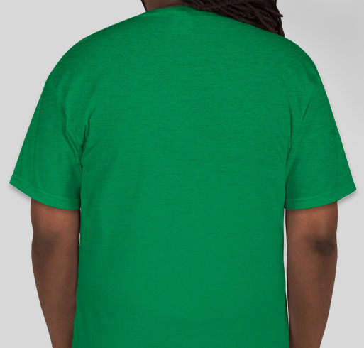 Code Green Fund Raiser Fundraiser - unisex shirt design - back