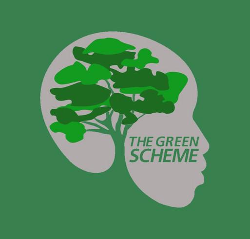 Code Green Fund Raiser shirt design - zoomed