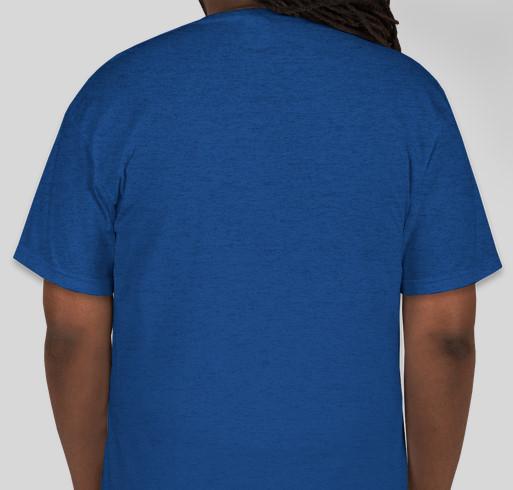 Virtual 5K Run/Walk for Colorectal Cancer Registration $30 Fundraiser - unisex shirt design - back