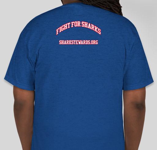 Sanctuary for Sharks Fundraiser - unisex shirt design - back
