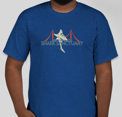 Sanctuary for Sharks Fundraiser - unisex shirt design - front